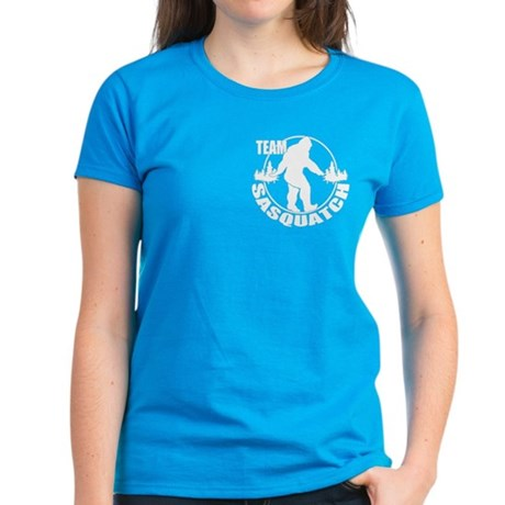 Team Sasquatch Women's Dark T-Shirt
