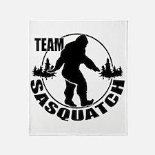 Team Sasquatch Throw Blanket