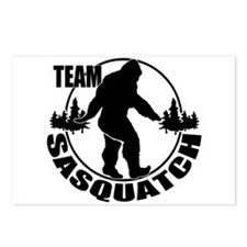 Team Sasquatch Postcards (Package of 8)
