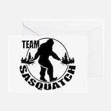Team Sasquatch Greeting Card