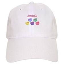 Custom Grand kids sweethearts Baseball Cap