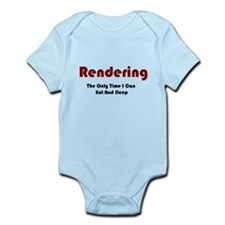 Rendering Lifestyle Infant Bodysuit