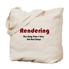 Rendering Lifestyle Tote Bag
