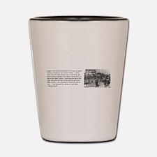 Bayard Rustin Shot Glass