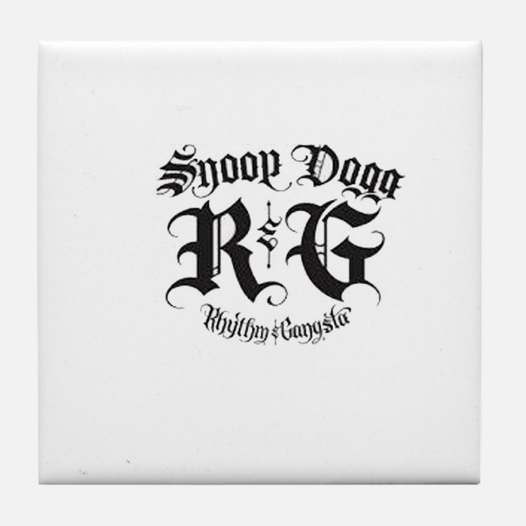 snoop dogg Tile Coaster