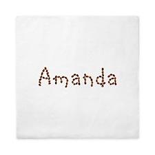 Amanda Coffee Beans Queen Duvet