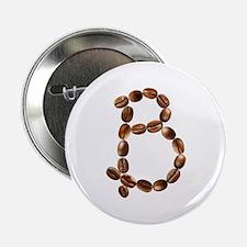 B Coffee Beans Button