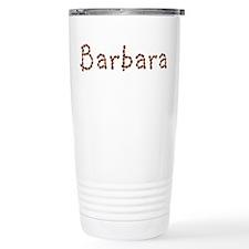 Barbara Coffee Beans Travel Mug