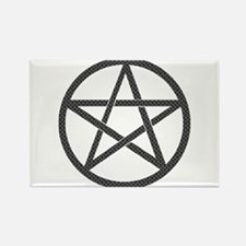 Butterfly Pentacle Rectangle Magnet