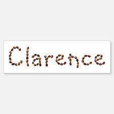 Clarence Coffee Beans Bumper Bumper Bumper Sticker