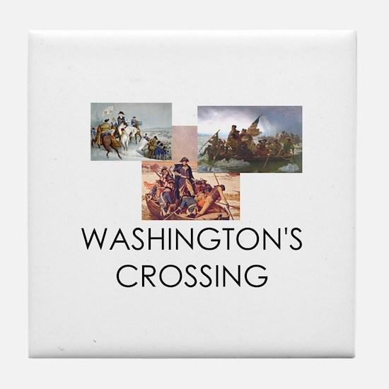 ABH Washington's Crossing Tile Coaster