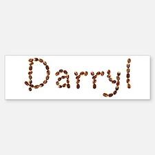 Darryl Coffee Beans Bumper Bumper Bumper Sticker