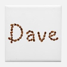 Dave Coffee Beans Tile Coaster