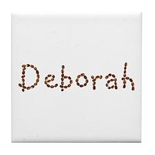 Deborah Coffee Beans Tile Coaster