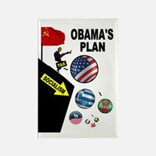 FISCAL CLIFF Rectangle Magnet