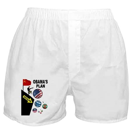 FISCAL CLIFF Boxer Shorts