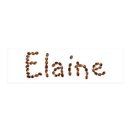 Elaine Coffee Beans 36x11 Wall Peel