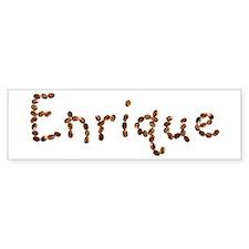 Enrique Coffee Beans Bumper Bumper Stickers