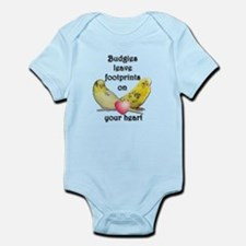 Budgies leave footprints on your heart Infant Body