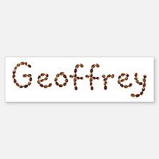 Geoffrey Coffee Beans Bumper Bumper Bumper Sticker