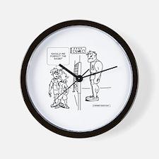 Cute Sports psychology Wall Clock