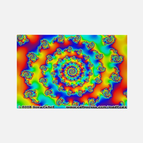 Fractal R~11 Rectangle Magnet