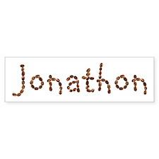 Jonathon Coffee Beans Bumper Bumper Sticker
