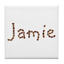 Jamie Coffee Beans Tile Coaster