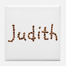 Judith Coffee Beans Tile Coaster
