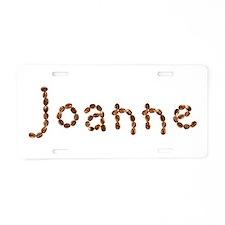 Joanne Coffee Beans Aluminum License Plate