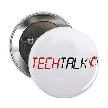 "TechTalk 2.25"" Button (100 pack)"