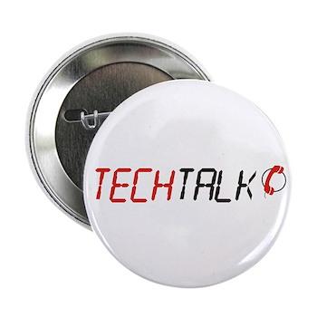"""TechTalk 2.25"""" Button (10 pack)"""