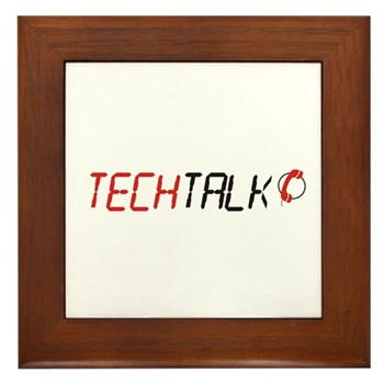 TechTalk Framed Tile