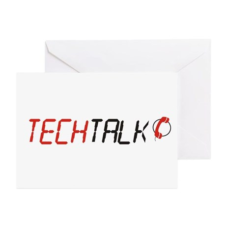 TechTalk Greeting Cards (Pk of 10)
