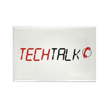 TechTalk Rectangle Magnet (100 pack)