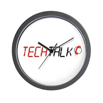 TechTalk Wall Clock