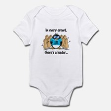 In Every Crowd Penguin Infant Bodysuit