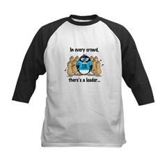 In Every Crowd Penguin Kids Baseball Jersey