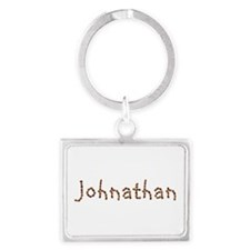 Johnathan Coffee Beans Landscape Keychain
