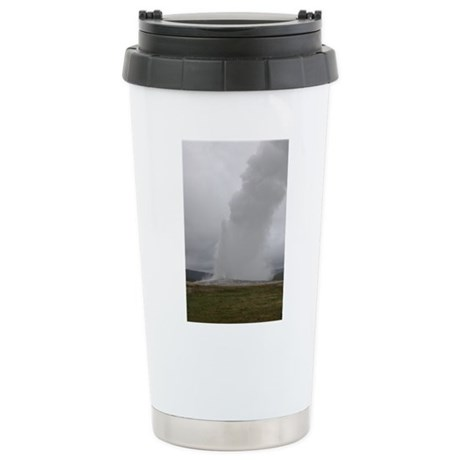 Old Faithful Yellowstone National Park Stainless S