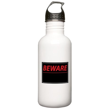 Beware Stainless Water Bottle 1.0L