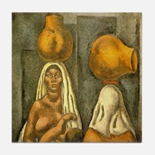 P. 1 of 2 Arturo Souto Mulatas Art Tile Coaster