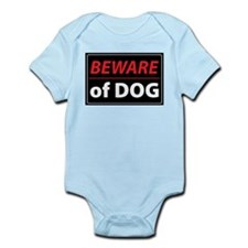 Beware Of Dog Infant Bodysuit