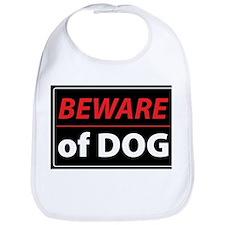 Beware Of Dog Bib