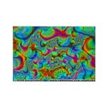 Fractal C~03 Rectangle Magnet (10 pack)