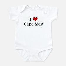 I Love Cape May Infant Bodysuit