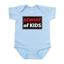 Beware Of Kids Infant Bodysuit