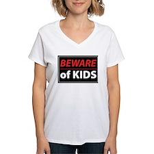 Beware Of Kids Shirt
