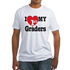 I Love My 1st Graders Shirt