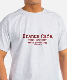 Uranus Cafe astronomy meets proctology. T-Shirt